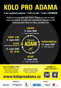 charitativni akce - kolo pro Adama